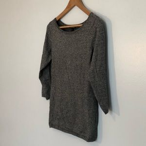 Like New! Express Marled 3/4 Sleeve Sweater